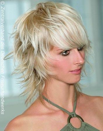 Как укладывать каскад на короткие волосы